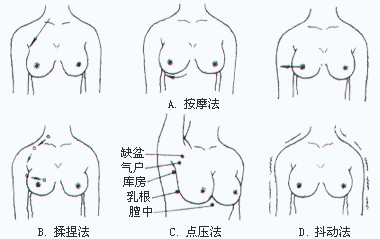 月嫂,母婴护理乳房按摩护理